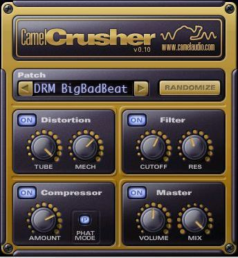Camel Crusher - Free VST multi-effect plug-in for Windows and Mac. Great fro Electric guitar. http://www.vstplanet.com/News/14/Camel-Crusher-free-VST-multi-effect-plug-in.htm