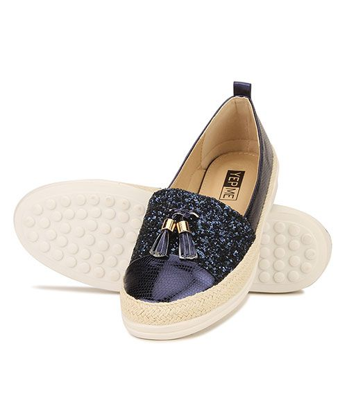 Buy Yepme Navy Blue Slip-on Bellies online in India at best price. Color:  Navy Blue Closing: Slip-on Material: Synthetic & Rubber Sole Heel Shape:  Flat ...