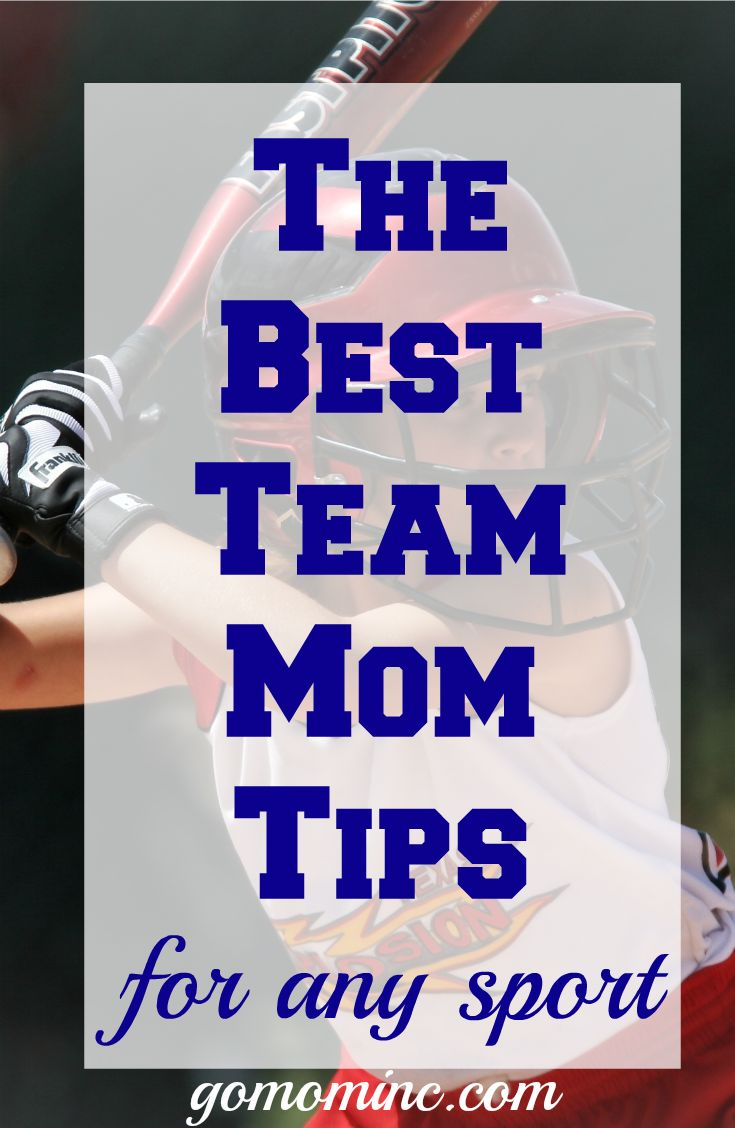 If you have ever considered serving as a team mom in youth sports it s time