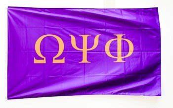 Omega Psi Phi Giant Flag by GreekGear. $24.95. Omega Psi Phi Giant Flag for only 24.95 at GreekGear. We have tons of more products on sale from our wide selection! Shop now and SAVE BIG with GreekGear.com, boasting the largest selection of Greek apparel for all your fraternity and sorority needs.
