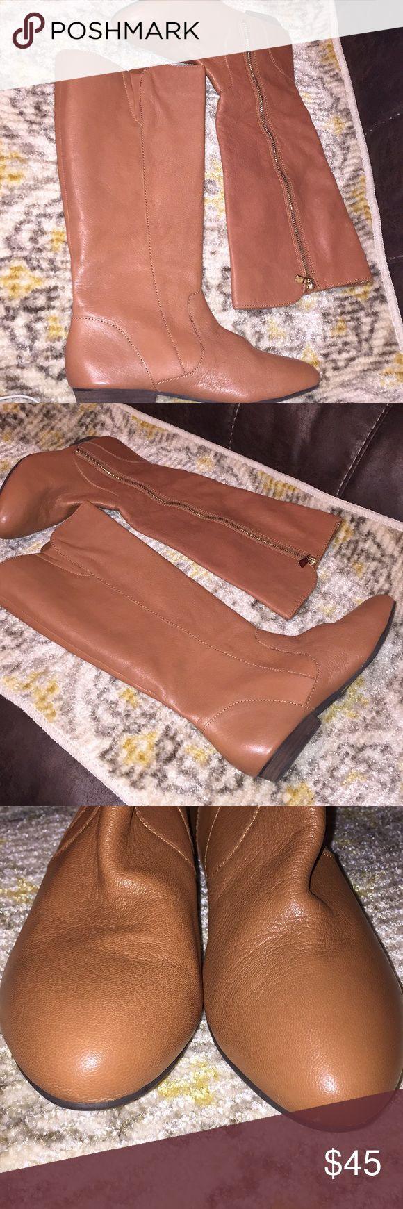 Gianni Bini Cognac Riding Boots Size 9 Gianni Bini Cognac Riding Boots Size 9 Shoes Ankle Boots & Booties