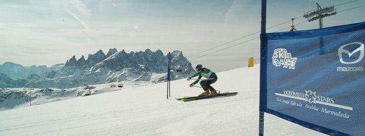 Ski races - Falcade Passo San Pellegrino #dolomitistars