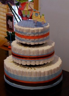 how to make a diaper cake video instructions