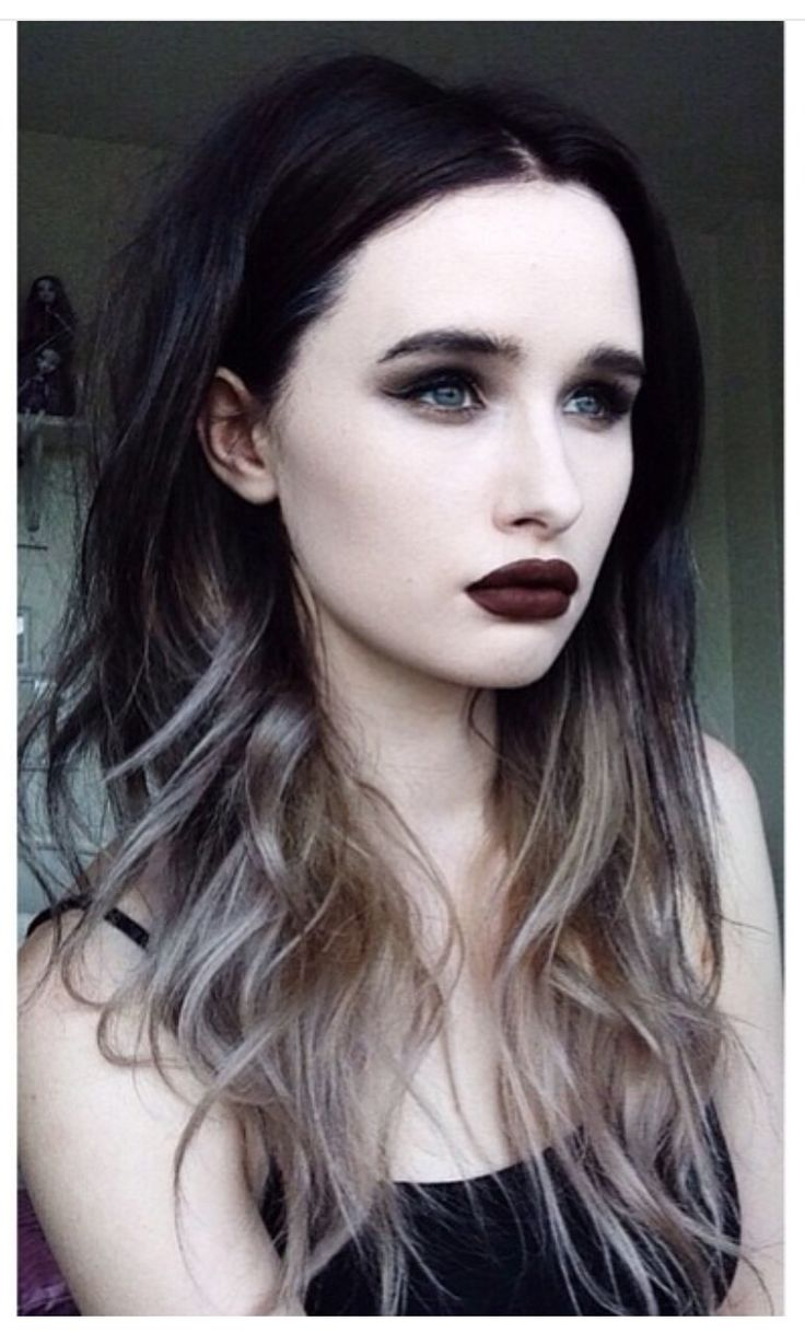 Best 25+ Black and silver hair ideas on Pinterest | Black ...