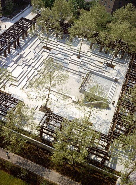Friedberg's Jacob Riis Plaza