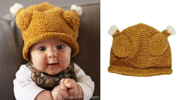 Turkey Drumstick knitted hat Knitting   Pinterest