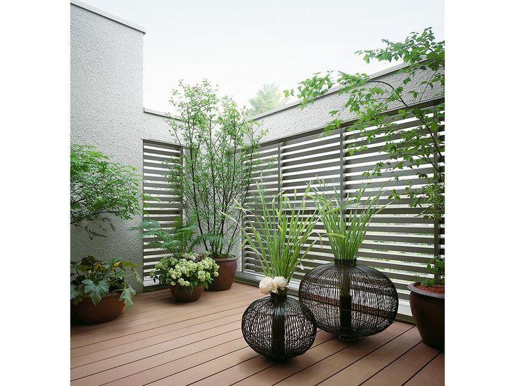 ルーフバルコニーの観葉植物 イメージ