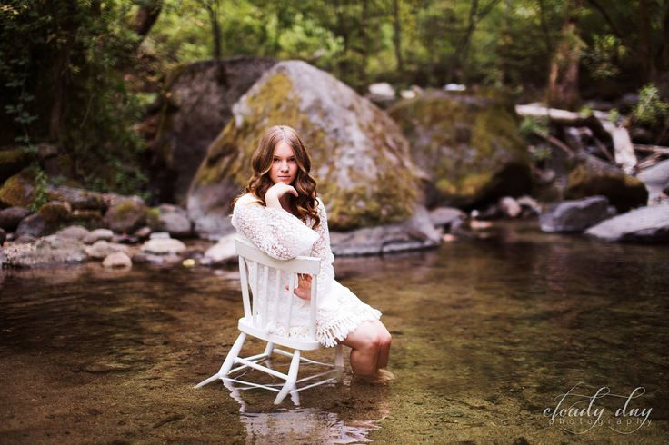 Senior Photo in Water