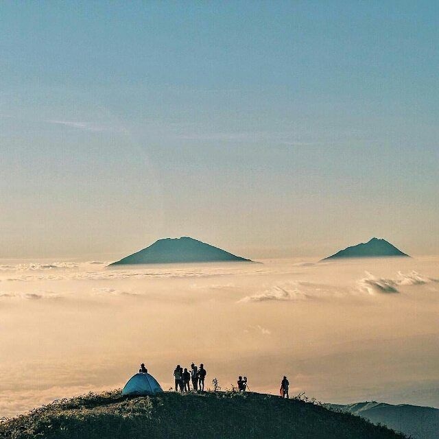 #exploreindonesia Photo by @mhelmyap taken at Mt Prau Dieng - Central Java by exploreindonesia