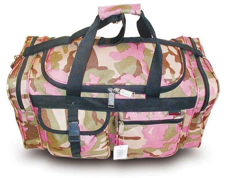 Explorer Women's Duffel Bag TM-PM Pink Camo 22 inch #Explorer