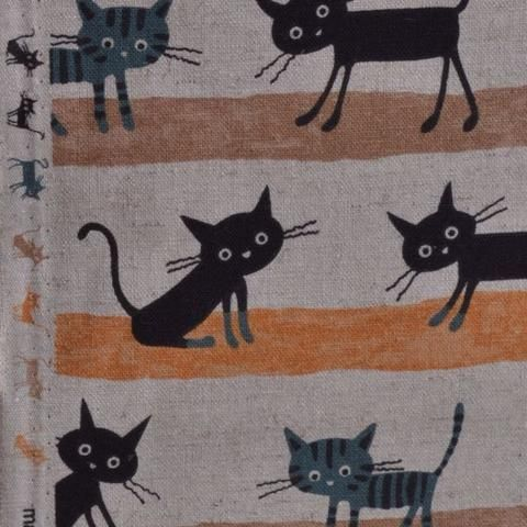 Cocoland cats fabric