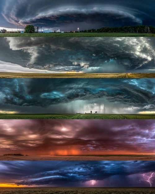 Over a period of five months @NikonAustralia photographer @willeadesphotography documented five panoramic images of the storms in #TornadoAlley #USA. Inspired by the different elements of each weather system Will named his shots accordingly (from top to bottom): Structure Watertower Death Rattle Seas of Gold and Borderline. With his AF-S #NIKKOR 16-35mm f/4G ED VR Will was able to brave the storms and capture the awe-inspiring and unrelenting power of nature. Are you a storm chaser? Show us…