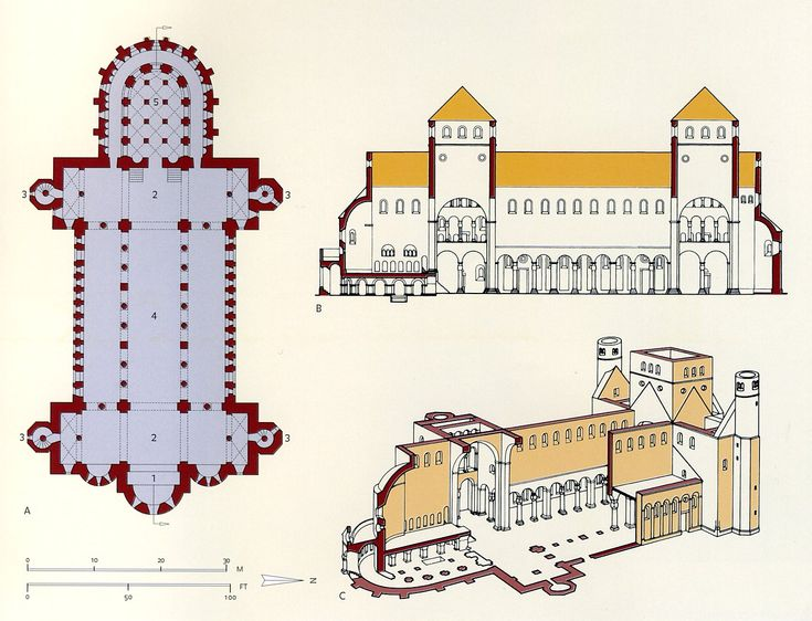plan of st michael's hildesheim - Google Search