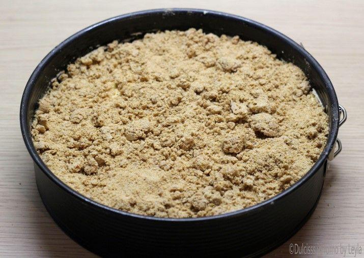 Torta di mele e amaretti Dulcisss in forno by Leyla