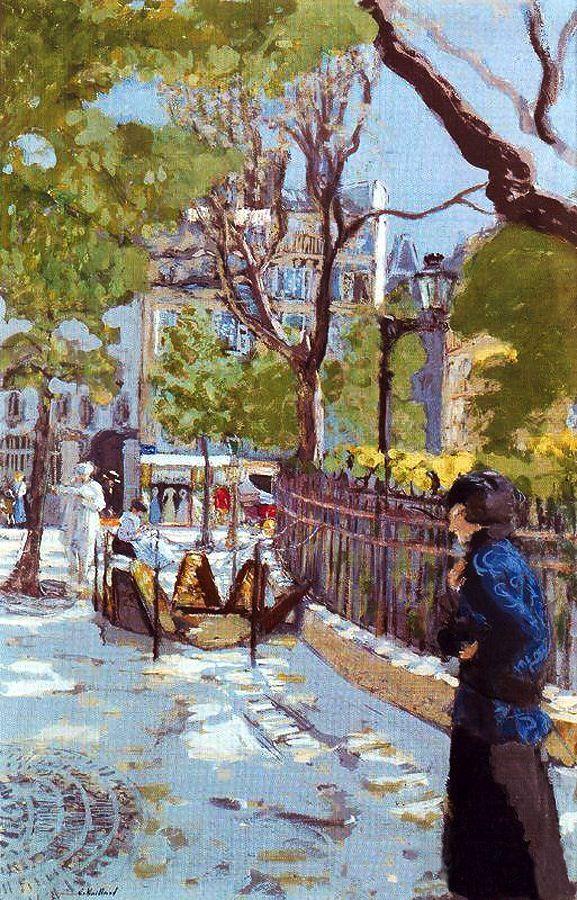 Edouard VuillardSquare à Paris