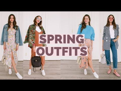c0431b4b5d42b Casual Spring Outfit Ideas 2018 | Spring LookBook - YouTube | Work ...