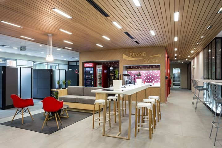 Refreshment Centers Coca-Cola® Chile Office by Instore, Santiago – Chile » Retail Design Blog