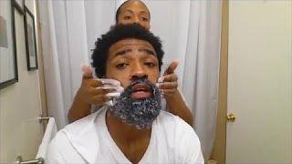 black men beard dye - YouTube