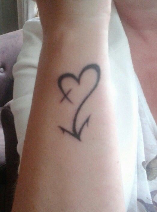 Best 25+ Faith hope love tattoo ideas on Pinterest | Small ...