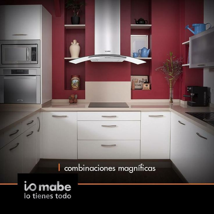 228 best Cocinas images on Pinterest | Contemporary kitchen cabinets ...