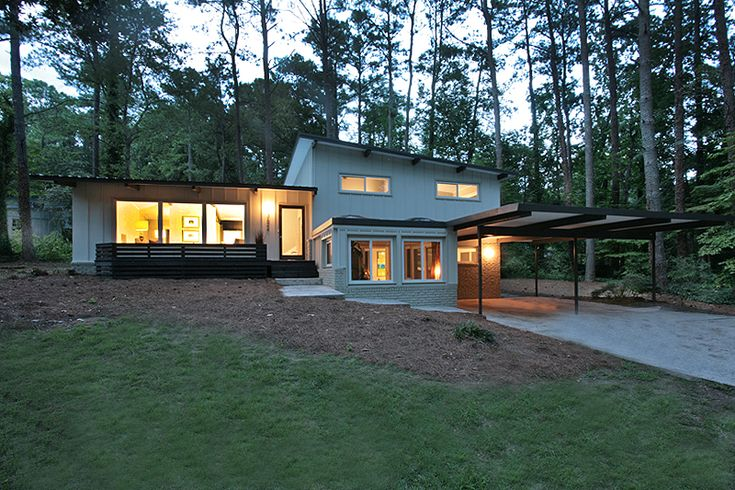 222 best images about split level homes on pinterest for Atlanta contemporary homes for sale