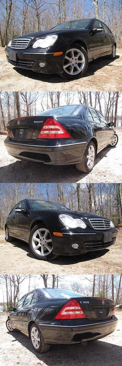 Luxury Cars: 2007 Mercedes-Benz C-Class 3.5L Luxury 2007 Mercedes-Benz C-Class 3.5L Luxury 97,444 Miles Black 4Dr Car V6 Cylinder En BUY IT NOW ONLY: $1525.0
