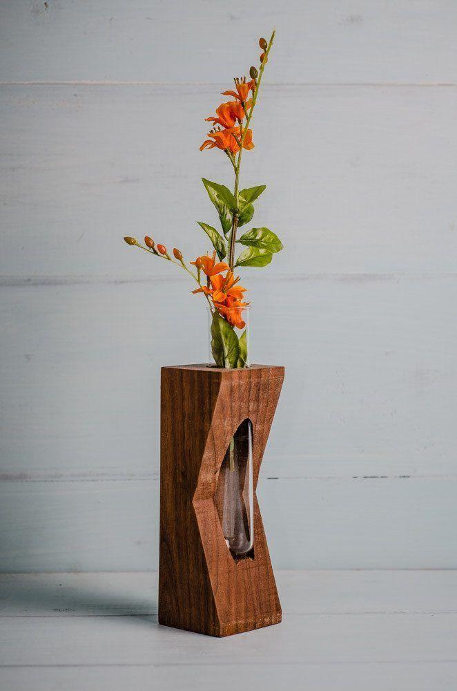Geometric Test Tube Bud Vase  Flores y platitas