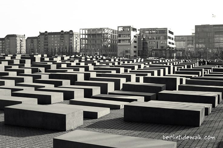 Holocast memorial in Berlin. Very moving.