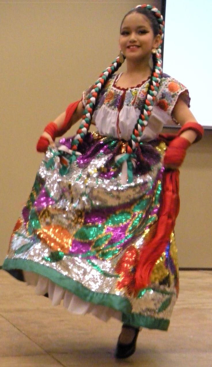 China Poblana. Ballet Folklorico Mexico Lindo, Fort Worth, TX