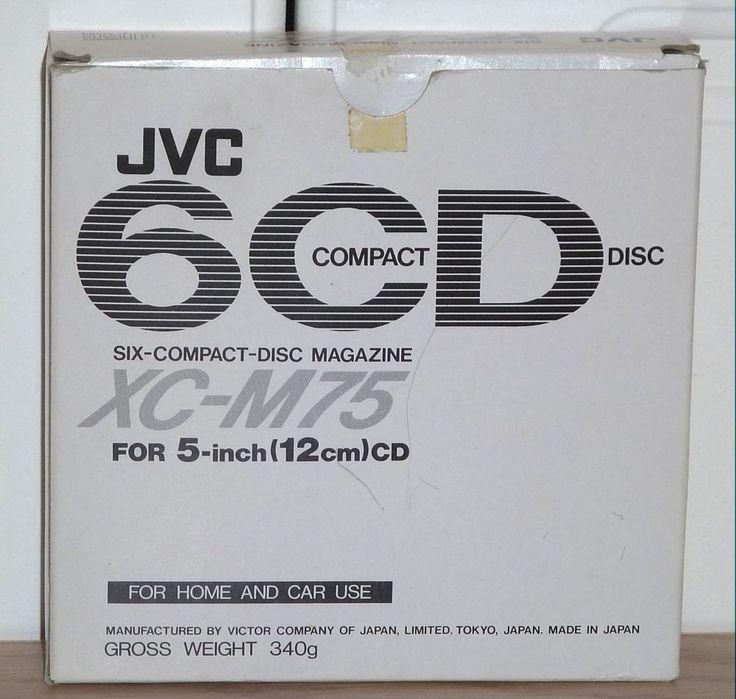 New in Box JVC 6 CD Magazine XC - M75 by aLoveOfVintage on Etsy