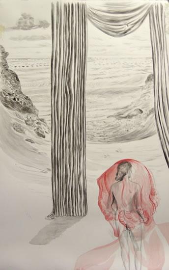 painting by Deborah Walker