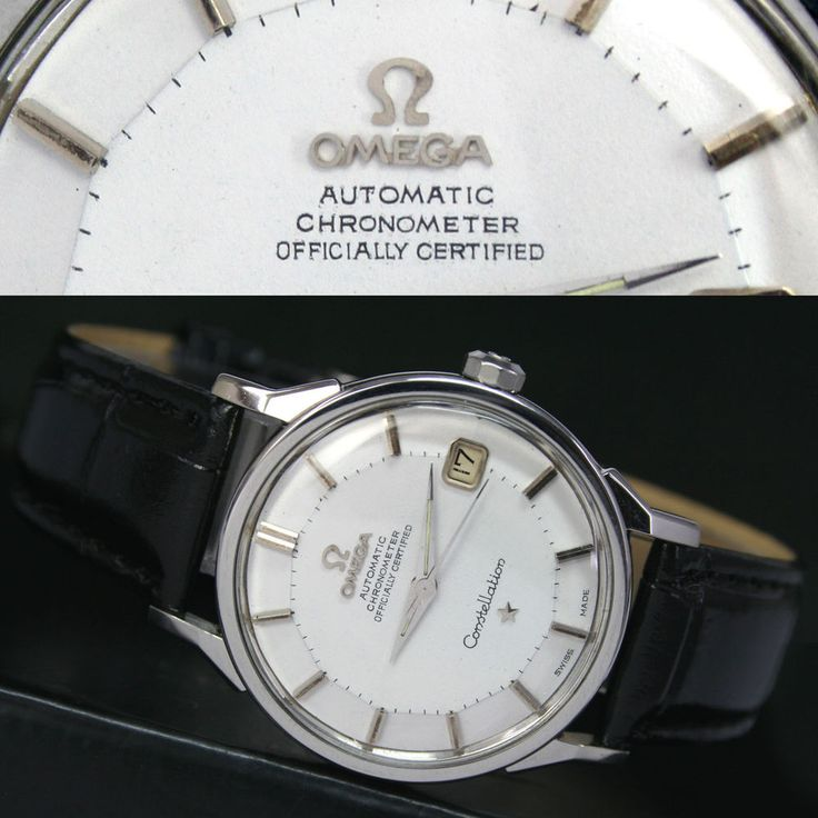 1967s Vintage OMEGA Constellation Automatic Date Steel Mens Watch