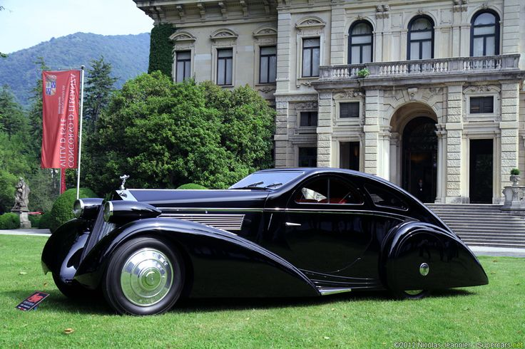 1925 Rolls Royce Phantom I Jonckheere Aerodynamic Coupe - first year production- fkn bad ass!