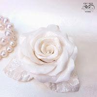 Фарфоровые розы после обжига. Porcelain roses.