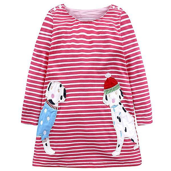 4a7f634106 Animal Pattern Long Sleeve Baby Girl Dress Kids Dresses for Girls Clothes  On Sale - NewChic