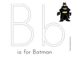 Free Batman Preschool Pack