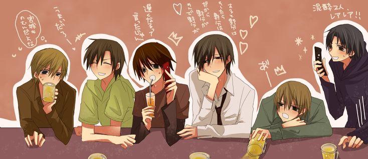 Junjo Romantica x Sekaiichi Hatsukoi