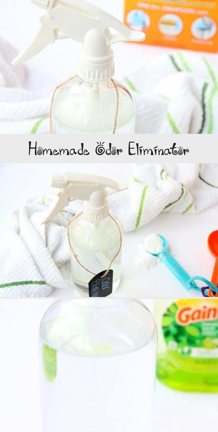 Homemade Odor Eliminator This DIY odor eliminator is a