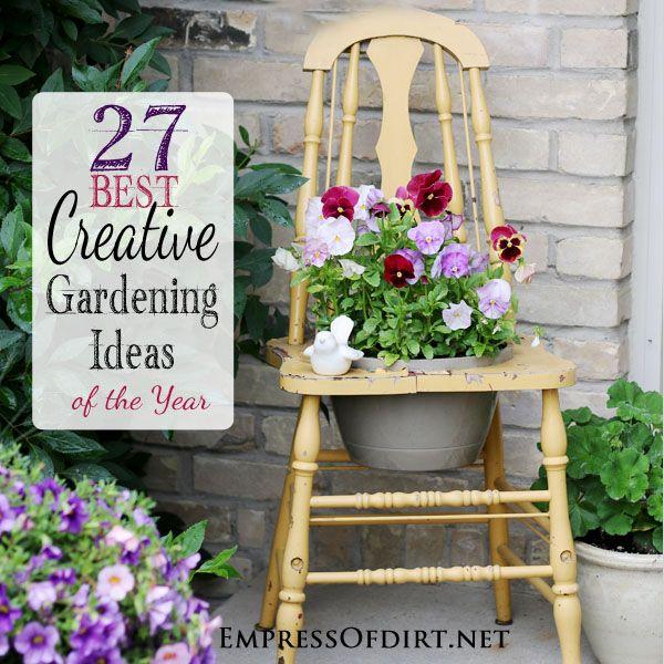 Creative Ideas For Garden Design: 27 Best Creative Gardening Ideas Of The Year