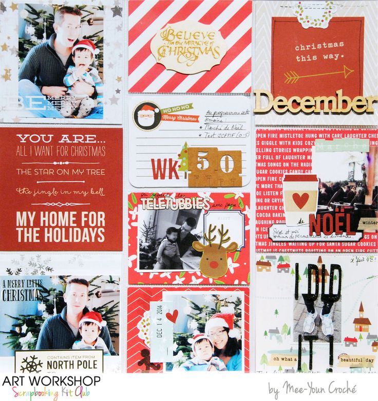 Art Workshop Kit Club December 2014 Pocket Life Kit by Mey