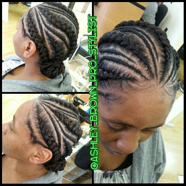 Feeder Braids African American