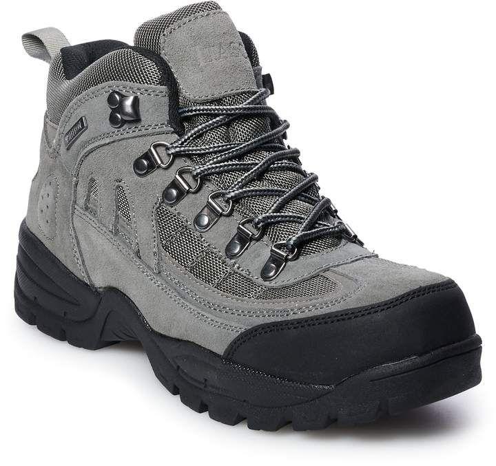 Hiking boots, Mens waterproof hiking