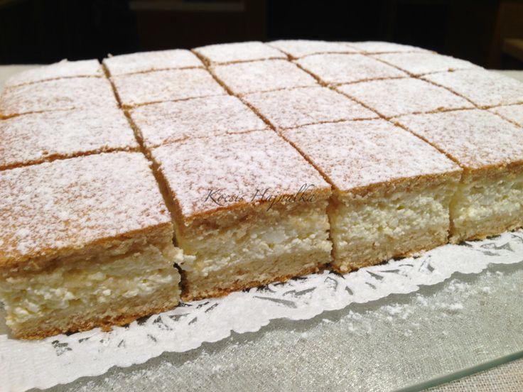 Az endrődi finom kelt sütemény továbbfejlesztett változata ez a túrós finom kelt, részben teljes kiőrlésű