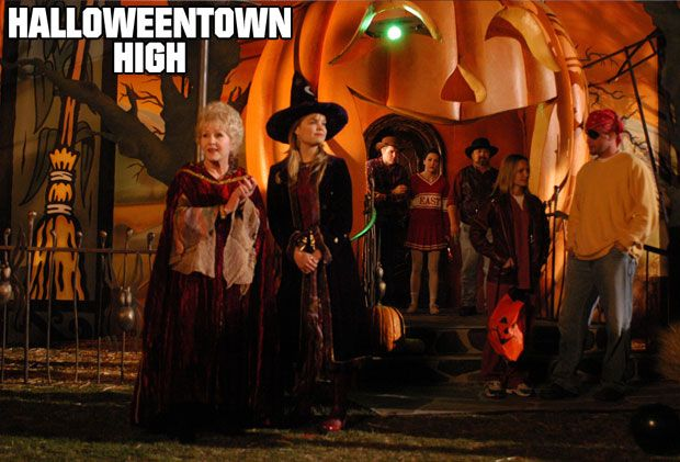 The third movie, Halloweentown High , is about Marnie's efforts to create integration between Halloweentown and the mortal world.