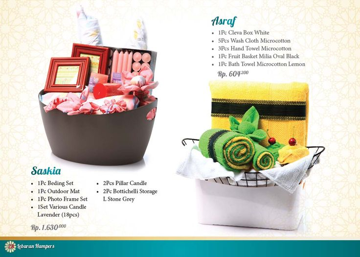 Lebaran Parcel - Asraf and Saskia. Click www.informa.co.id for more collection.