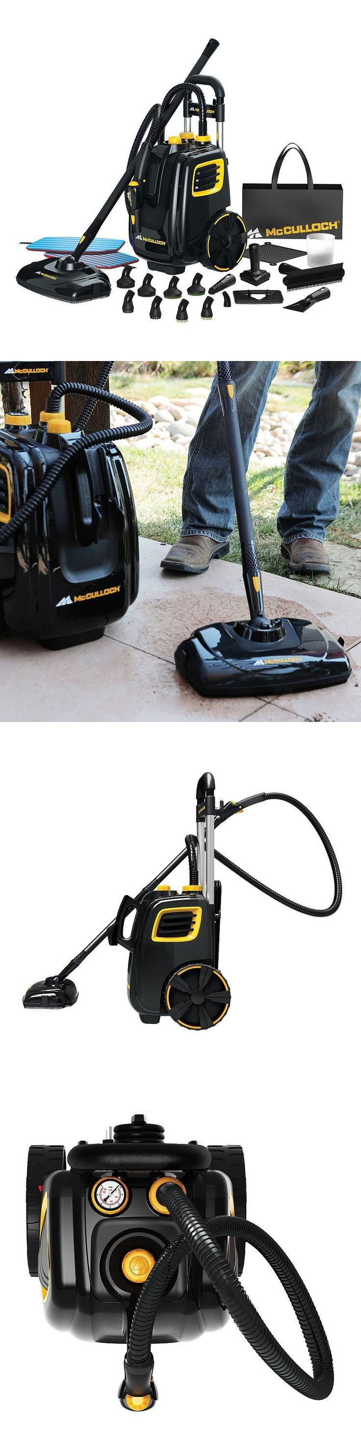Carpet Steamers 79656: Brand New In Box Steam Cleaner Mcculloch Mc1385 With Pads Accessories Warranty -> BUY IT NOW ONLY: $183.91 on eBay!