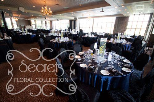 Navy Wedding Reception Ideas Navy Blue And Silver