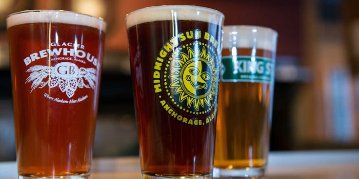 Sip from eight Anchorage breweries and other Alaska beers on tap in Anchorage. From pilsner to baltic stout, there's something special brewing in Anchorage.