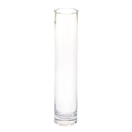 Vase Zylinder Glas klar ca. 6x30 cm  Maße: ca. D: 6cm, H: 30cm Material: Glas Farbe: klar Machen Sie diese schönen zylindrische Vase zu Ihrem persönlichen Designelement für Ihr zu Hause! Nutzen Sie die Vase aus Glas für einen wunderschönen Blumenstrauß, ein mediterranes Kerzenarrangement, oder schmücken Sie die Vase ganz schlicht mit kleinen Teelichtern. Ihre Fantasie wird Sie überraschen!  9.95 CHF