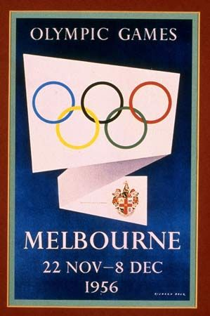 1956-Summer-Olympics-in-Melbourne
